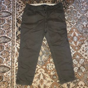 Abercrombie Skinny Athletic Cropped Chinos 31x32